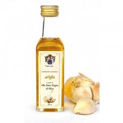 Condimento Aromatico all'Aglio a base di olio extra vergine d'oliva 10 cl