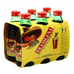 BRASILENA, Gassosa al Caffè 6 Bottiglie da 25cl