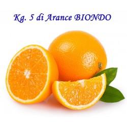 Kg. 5 di Arance BIONDO Tardivo di Corigliano Calabro - Calabria