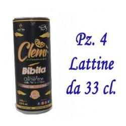 CLEMI' SUCCO DI CLEMENTINE - Pz. 4 Lattina da 33cl.