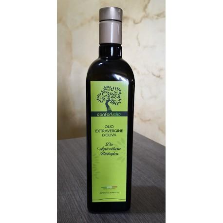 Litri 0,75 di Olio ExtraVergine di Olive Biologico in Bottiglia