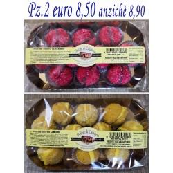 Pz.2 PESCHE alla gusto ALKERMES e LIMONE - 250 gr. cad.