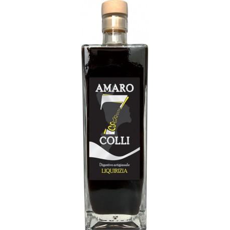 Amaro 7 Colli Liquirizia cl 70 - Lavorazione Artigianale Calabrese