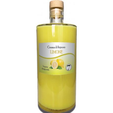 Crema di liquore Limone cl 70 - Lavorazione Artigianale Calabrese