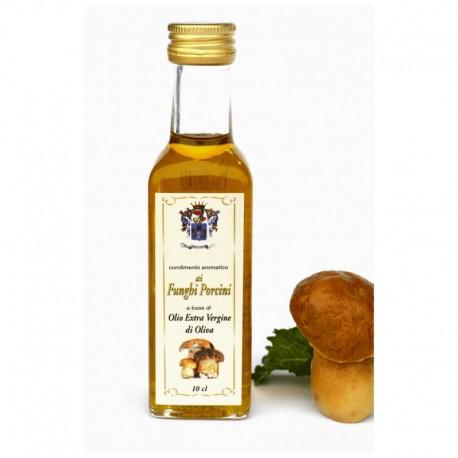 Condimento Aromatico ai Funghi Porcini a base di olio extra vergine d'oliva 10 cl
