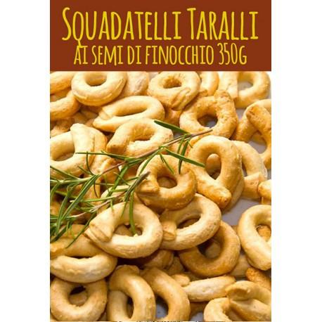 SCALDATELLI AI SEMI DI FINOCCHIO CASERECCI - gr. 350