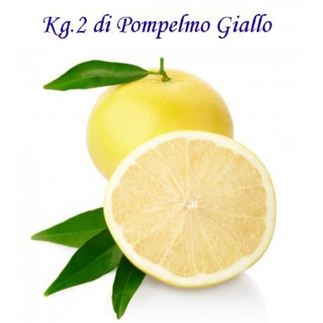 Kg. 2 di POMPELMI Gialli di Corigliano Calabro con buccia edibile