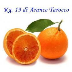 Kg. 19 di Arance Tarocco di Corigliano-Rossano - Calabria