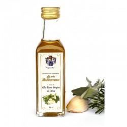 Condimento Aromatico alle erbe Mediterranee a base di olio extra vergine d'oliva 10 cl