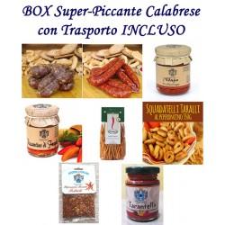BOX SUPER-PICCANTE CALABRESE - Pz.8 Prodotti con Trasporto Incluso