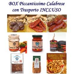 BOX PICCANTISSIMO CALABRESE - Pz.9 Prodotti con Trasporto Incluso