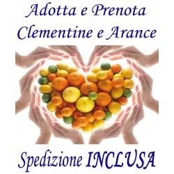 PRENOTA e ADOTTA Kg.13 di Agrumi: CLEMENTINE e ARANCE - TRASPORTO INCLUSO