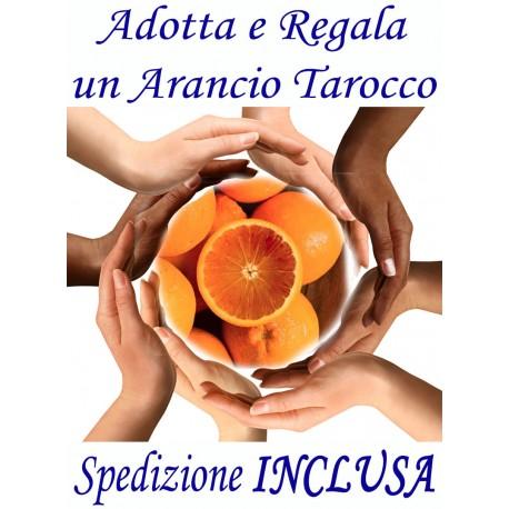 ADOTTA o REGALA Kg.12 di ARANCE TAROCCO - TRASPORTO INCLUSO