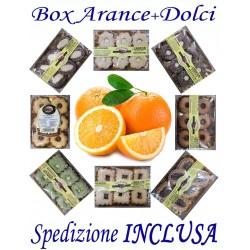Box kg.11 di Arance + Pz.7 DOLCI Misti con Trasporto INCLUSO