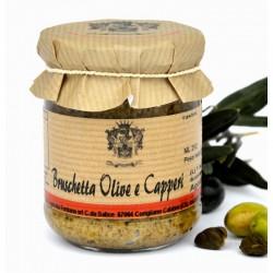 Bruschetta Olive e Capperi