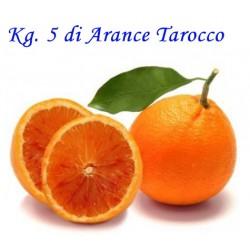 Kg. 5 di Arance Tarocco di Corigliano-Rossano - Calabria