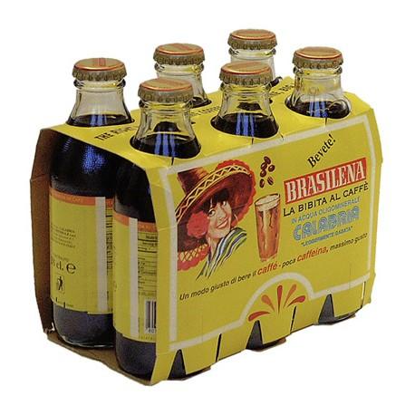 BRASILENA, Gassosa al Caffè 6 Bottiglie da 18cl