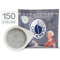 150 pz. CIALDA CAFFE' BORBONE MISCELA NERA - ESE 44 mm