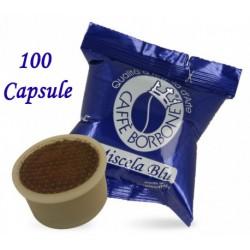 100 pz. CAPSULE CAFFE' BORBONE MISCELA BLU - Compatibile Espresso Point
