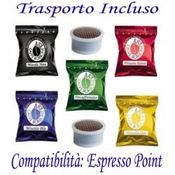 200 pz. CAPSULE CAFFE' BORBONE - Compatibile ESPRESSO POINT