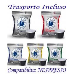 200 pz. CAPSULE CAFFE' BORBONE - Compatibile NESPRESSO
