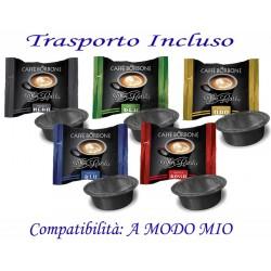 200 pz. CAPSULE CAFFE' BORBONE - Compatibile A MODO MIO