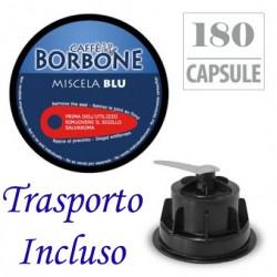 180 pz. CAPSULE CAFFE' BORBONE MISCELA BLU - Compatibile DOLCE GUSTO