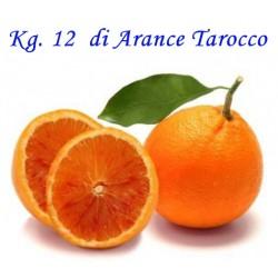 Kg. 12 di Arance Tarocco di Corigliano-Rossano - Calabria
