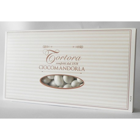 Gusto NOCE - Confetti Cioccomandorla BIANCO - gr.500