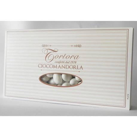 Gusto PANNA e FRAGOLA - Confetti Cioccomandorla BIANCO - gr.500